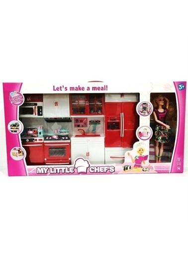 Kayyum Oyuncak Kayyum Oyuncak My Little Chef's 4'lü Mutfak Seti Bebek Hediyeli Evcilik Oyuncakları Renkli